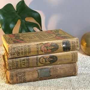 Old set of 3 books for decorating from 1912 & 1920